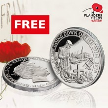 THE LONDON MINT OFFICE PARTNERS WITH IN FLANDERS FIELDS MUSEUM WITH AN EXCLUSIVE COIN TO COMMEMORATE THE CENTENARY OF THE END OF WORLD WAR I.