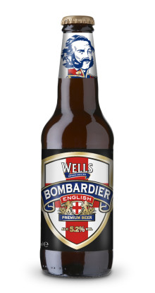 """Bombardier """"The Drink of England"""" i ny flaskstorlek"""
