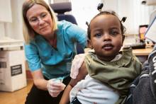 Jämlik tillgång till vacciner