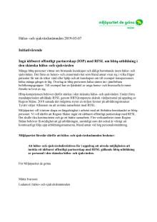 Bättre bemötande av hbtq-personer - initiativärende Miljöpartiet