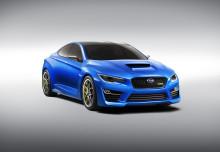 Världspremiär för Subaru WRX Concept i New York