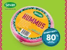 Sevans Hummus får högt betyg av Smartsons testpiloter