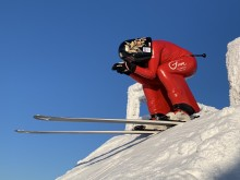 Speedskiåkaren Britta Backlund vann världcuppremiären överlägset