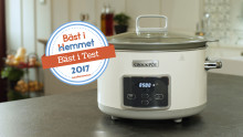 Crock-Pot Slowcooker återigen bäst i test!