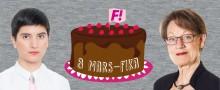 Fi firar det feministiska genombrottet på klassisk tårtmark den 8 mars