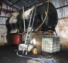 County Armagh laundering plant dismantled