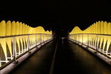 Malmö Stad valde vandalsäker belysning till cykelbro i Limhamn!