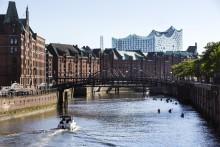 Nyttårshilsen fra Hamburgs Elbphiharmonie