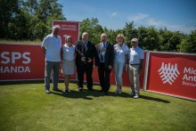 Sizzling turn out for ISPS Handa Golf World Invitational media day at Galgorm