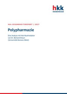 hkk-Gesundheitsreport 2017 / Polypharmazie