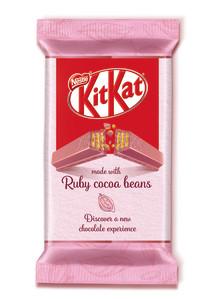 Nu kommer en rosa KitKat till Sverige