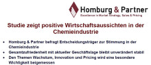 Studie zeigt positive Wirtschaftsaussichten in der Chemieindustrie