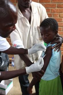 Dödligt mässlingsutbrott i Malawi