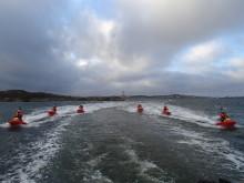 Tio år sedan en av Sveriges svåraste helikopterolyckor – Sjöräddningssällskapet hedrade de omkomna i minnesceremoni