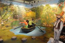"""Invigning av """"Pettson och Findus – en lekutställning"""" på Kulturen i Lund"""