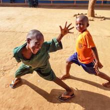 Bantuspråk inget hinder på lärorik praktik på skola i Uganda