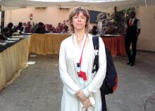 Diakonias biståndsexpert på mötet i Nairobi