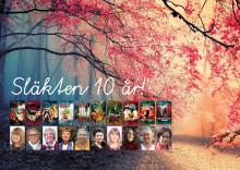 Unik bokserie om kvinnors roll i svensk historia firar 10 år. Välkommen på pressträff och kalas.