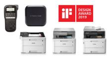 Zes iF Design Awards voor uitzonderlijke ontwerpkwaliteit van Brother
