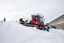 Unikt snölabb i Luleå