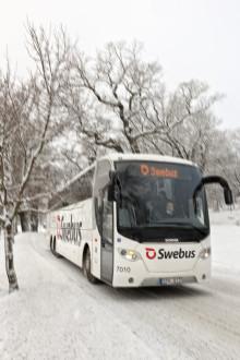 Trafikrapport från Swebus: Inga förseningar på julens mest intensiva resdag