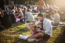 Sommarbio för alla barn i Stockholm