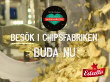 Besök chipsfabriken: Estrella för Musikhjälpen 2018