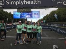 Veterinary runners triumph in Simplyhealth Great North Run