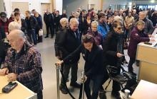 Stor publiktillströmning under Nolia Höst öppning