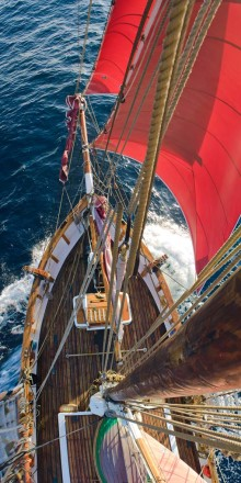 122 year old humanitarian sailing vessel needs your help