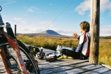 Aktiv men avkopplad - sommarsemester i fjällen