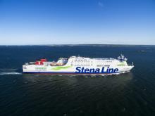 Positiva siffror för Stena Line i årets hållbarhetsredovisning - svavelutsläppen halverades under 2015