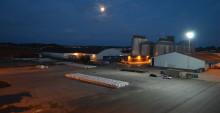 Mastig hamnbelysning hos Norrköpings Hamn och Stuveri AB