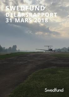 Swedfunds delårsrapport januari - mars 2018