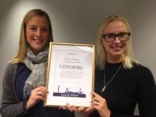 Göteborg prisad på evenemangsgala