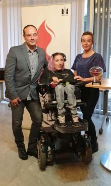 """Martina """"Zmackis"""" Zandelin vinnare av det första Eleonorapriset"""