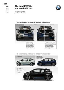 NYA BMW i3 & BMW i3s - höjdpunkterna