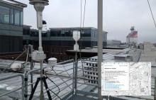 Här mäter miljöförvaltningen luften i Göteborg