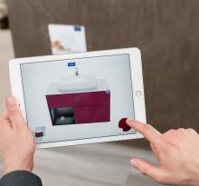 B2B: Nouvelle application Augmented Reality Villeroy & Boch - une extension virtuelle de l'exposition de salles de bains