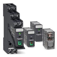 Schneider Electric introducerar Zelio RXG - en ny serie interfacereläer så enkla att de kan manövreras med endast ett finger