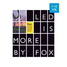 Fox Design visar tekniken med LED och bjuder på lunch.