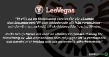 Ports Group presenterar en ny klient: LeoVegas Mobile Gaming Group