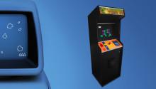 Bygget av världens första trådlösa arkadspel