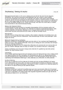 Teknisk information - Skyltbeslag
