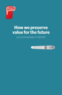 Findus Vastuullisuusraportti 2012