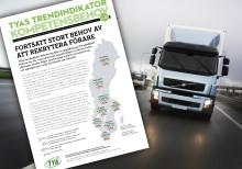 Fortfarande stor brist på lastbilsförare