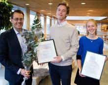 """Studenter i Stockholm och Uppsala vinner WSPs tävling """"100H"""""""