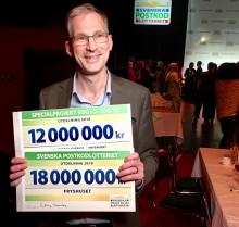 Fryshuset får 18 miljoner av Svenska Postkodlotteriet och 12 miljoner tillsammans med Plan International