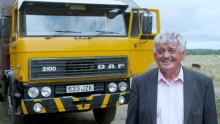 Vilken är den äldsta DAF-lastbilen som fortfarande används?