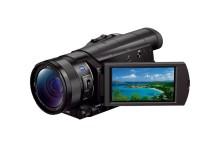 Sony lanza la videocámara 4K más pequeña y ligera del mundo
